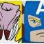Punching American Super Hero