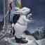 白兔望月圖
